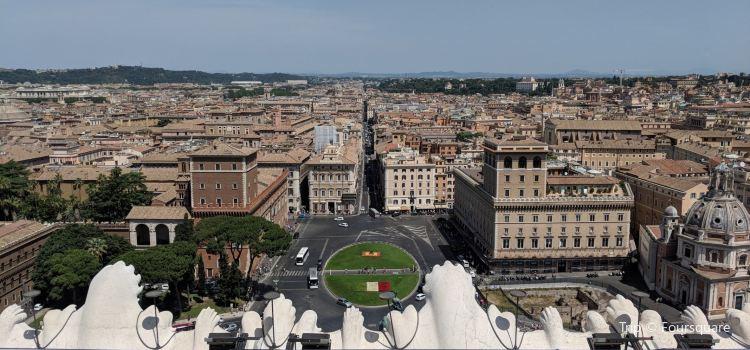 Roma dal Cielo Terrazza delle Quadrighe1