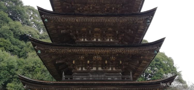 瑠璃光寺 五重塔3