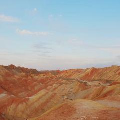 칠채단하지질공원 여행 사진