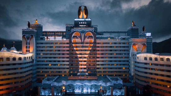 長隆企鵝酒店噴泉廣場餐廳