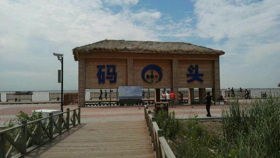 哈素海碼頭