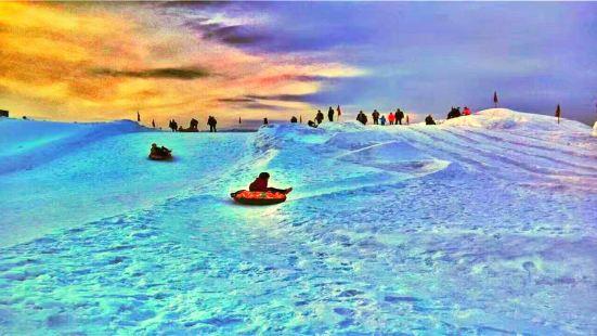 橡膠壩冰雪樂園