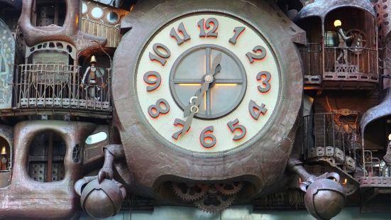 미야자키 하야오의 일본텔레비 대시계
