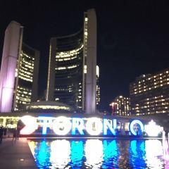 토론토 시청 여행 사진