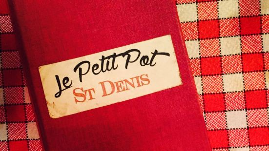 Le Petit Pot St Denis
