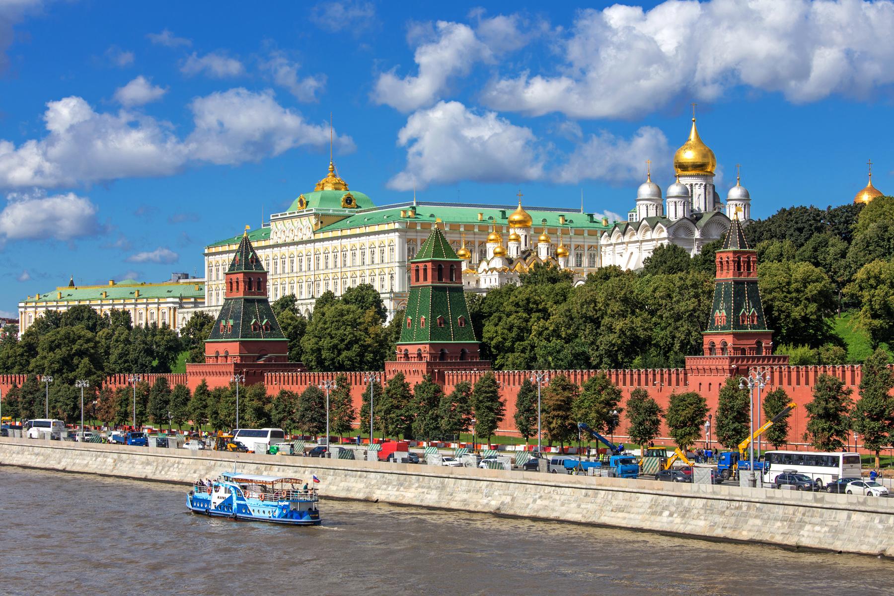 モスクワのクレムリン