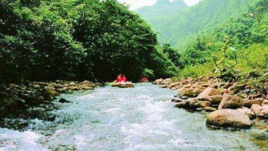 龍遊大峽谷漂流