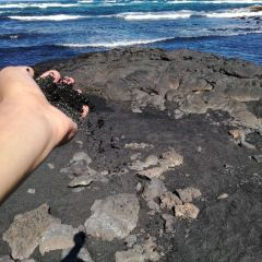 Punaluu Black Sand Beach User Photo