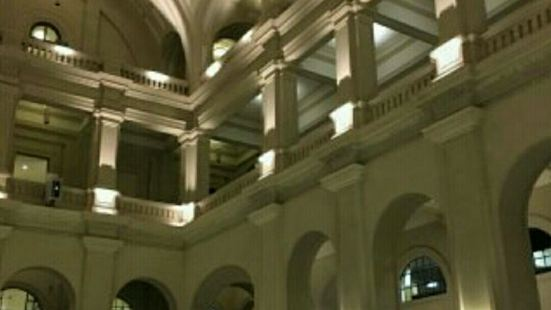 The Julio Prestes Cultural Center - Sala Sao Paulo