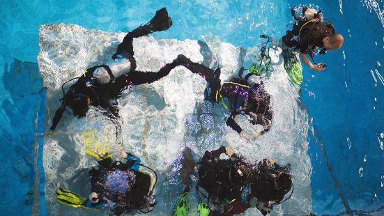 廣州天河體育中心帕迪潛水體驗