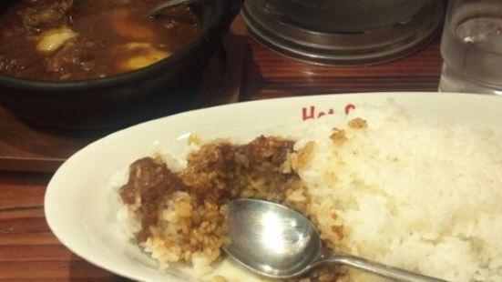 手工咖哩熱湯匙