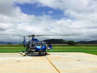 藍色夏威夷直升機觀光之旅