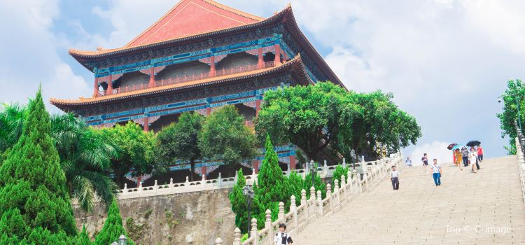 Lianhua Mountain Scenic Area2