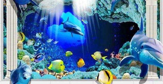 馬良畫畫-水族館