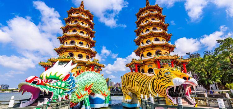 Dragon and Tiger Pagodas2