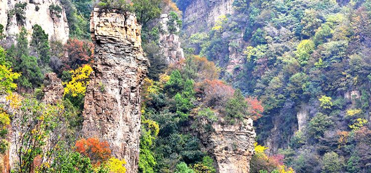Xinglong Mountain Scenic Area3