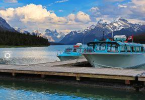 加拿大—山川與湖泊的夢幻畫卷