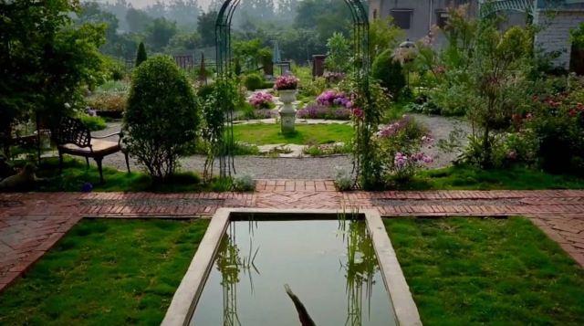 他在成都租下660㎡荒地,改成私密花園,絕美!