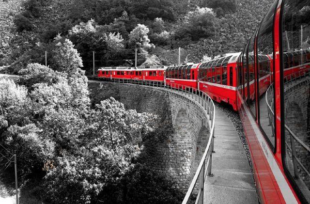 一路向南,這趟列車美到被嫉妒!