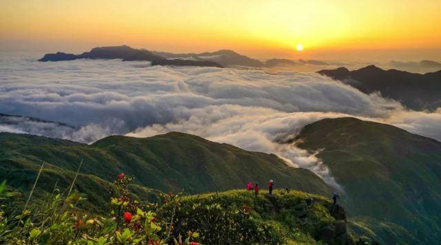 登山看雲海!這些春季觀雲海的好地方,帶你一覽眾山仙境!