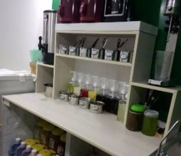 莫沫南路茶飲店