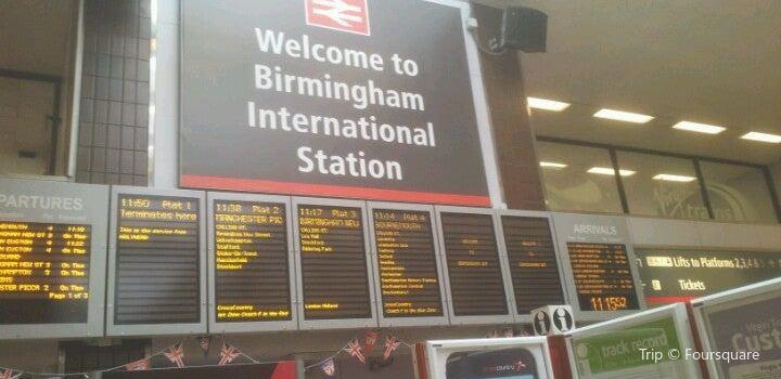 Birmingham International Railway Station Travel Guidebook