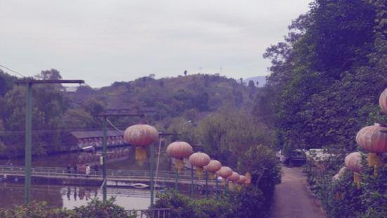 蓮花湖水中園烤全羊農家樂