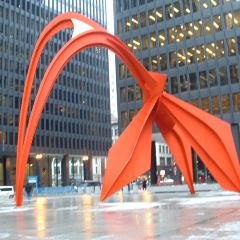 Alexander Calder Flamingo Sculpture User Photo