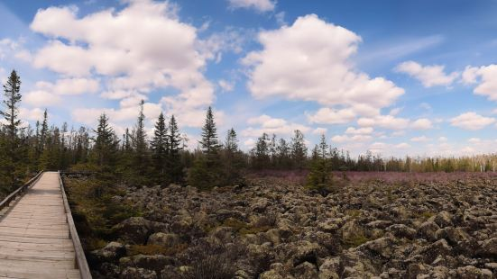 紅星火山地質公園