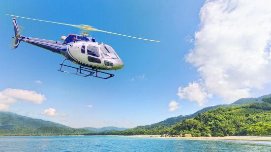 聖基爾達海灘直升機觀光