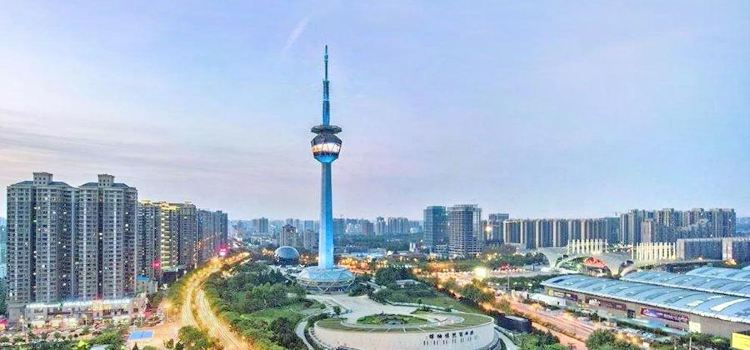 서쪽의 빛' 산시 TV송신탑