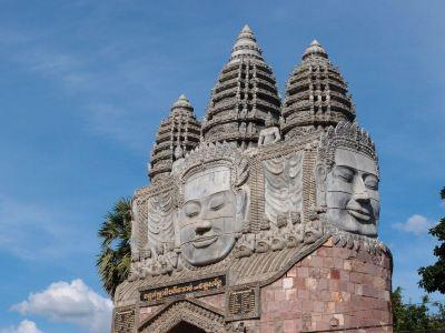 Wat Damrey Sar寺廟