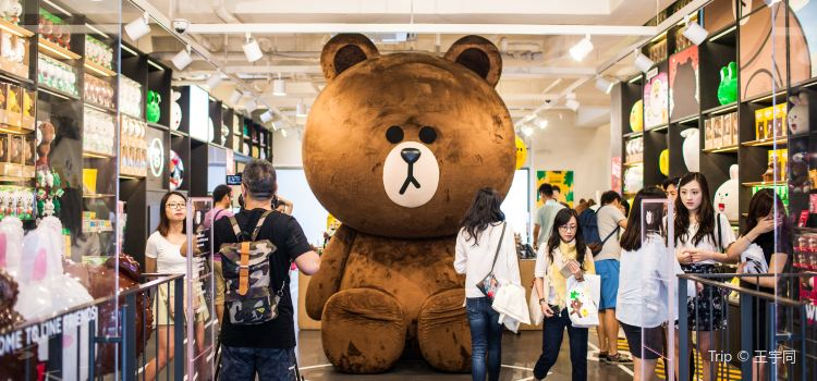 LINE FRIENDS STORE(新沙洞店)1