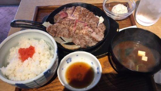 Pork Steak Toichi Sumiyoshi