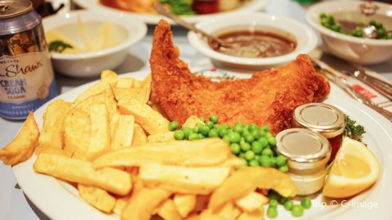 Poppie's Fish and Chips(Spitalfields店)