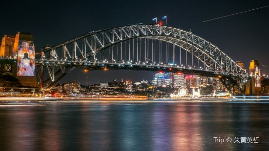 夜遊雪梨港