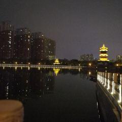 잉쩌공원 여행 사진