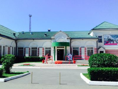 The History Museum of The Krasnoyarsk Railroad on The Abakan Station