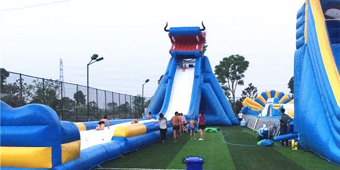 양저우 천락호 놀이공원2