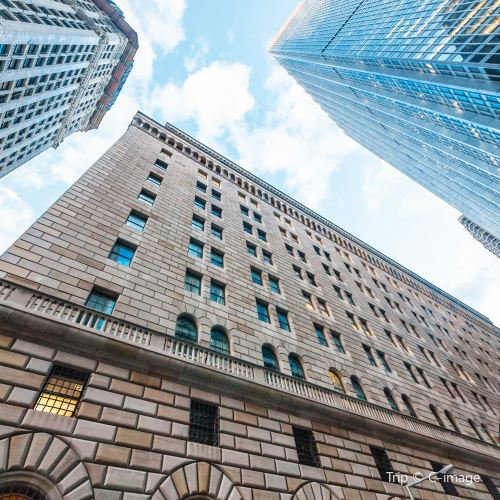 Federal Reserve Bank Of New York Attractions 冰凉的 New York