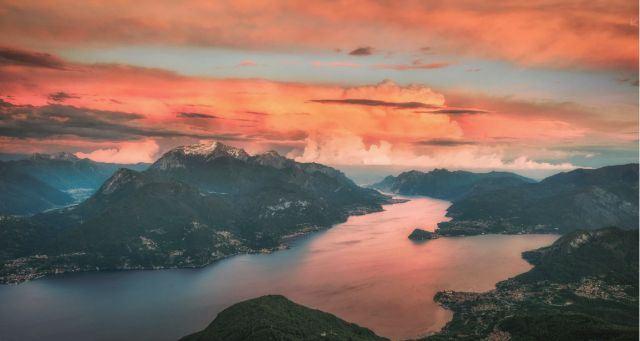 科莫湖:非上帝之手不能創造