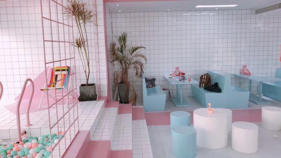粉酷影像集合咖啡館