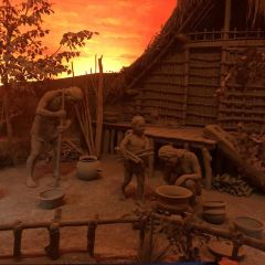 하모도(허무두) 유적지 박물관 여행 사진