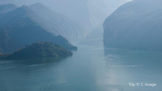 三峡ダム観光エリア