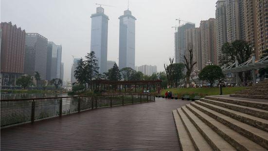花果園濕地公園濱水廣場