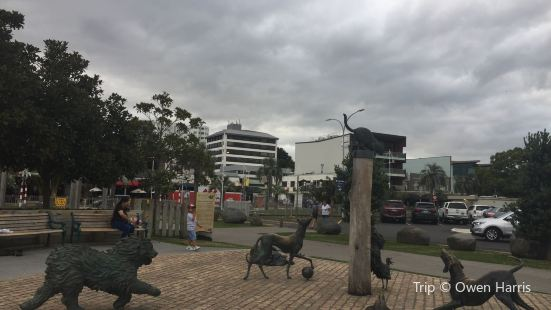 Hairy Maclary & Friends Tauranga Waterfront Sculpture