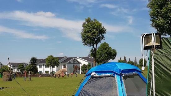 밍주호수 캠핑카 기지