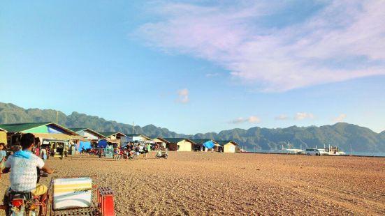 Coron Town Fish Market