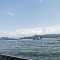 첸다오후 유람선 여행 사진