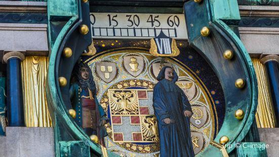 Ankeruhr von Franz Matsch